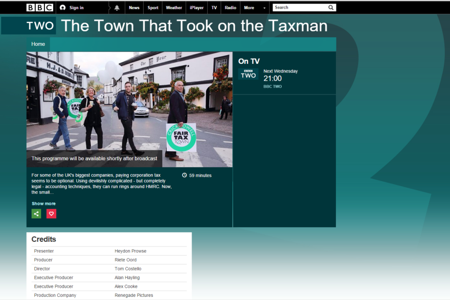The Town That Took on the Taxman